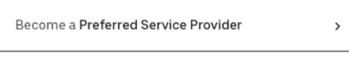 become a preferred service provider