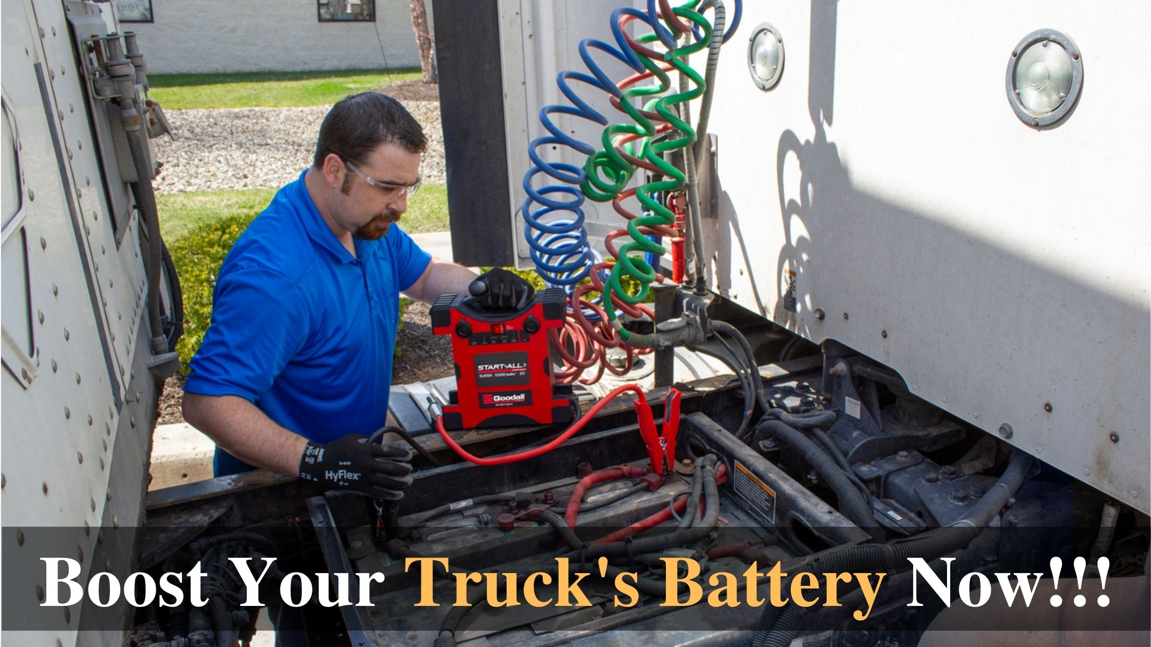 Boost Your Truck's Battery Now!!!