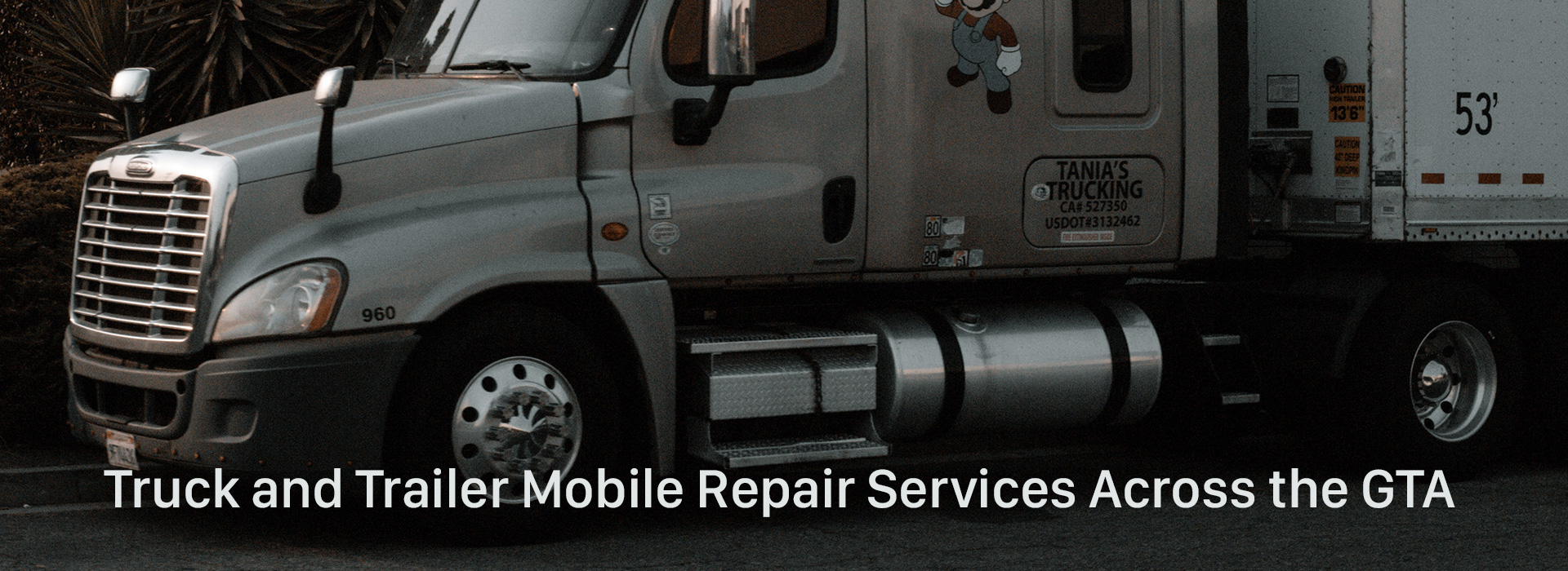 Truck and Trailer Mobile Repair Services