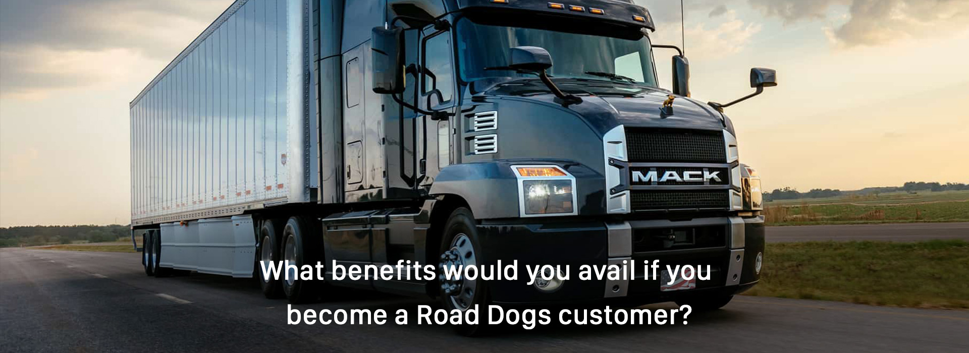 benefits would you avail if you become a Road Dogs customer